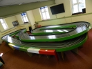 Andrews routded slot car track