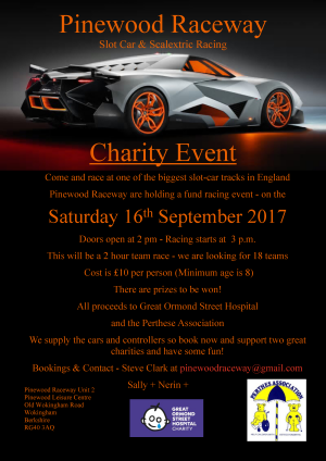 Charity event September 2017